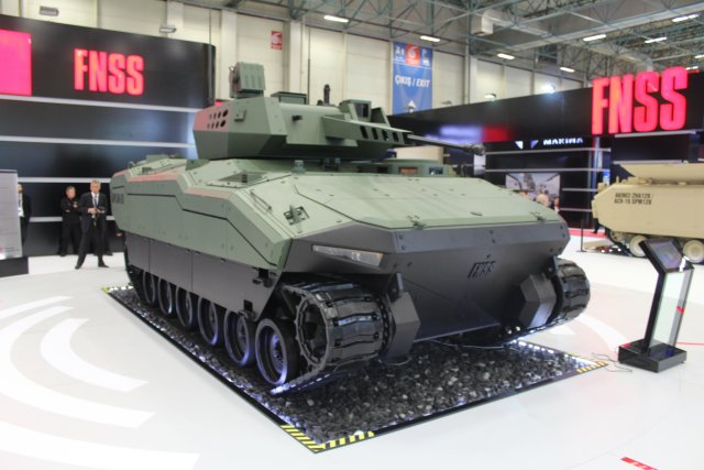 KAPLAN-20 new generation of armored fighting vehicle showcased for the first time by FNSS at IDEF 640 001