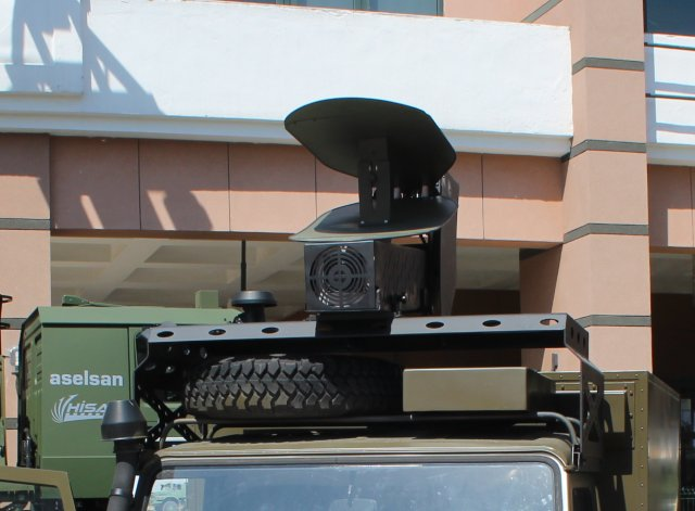 Aselsan showcases its anti-IED solution with EJDERHA (HPEM) EMP system at IDEF 2015 640 002