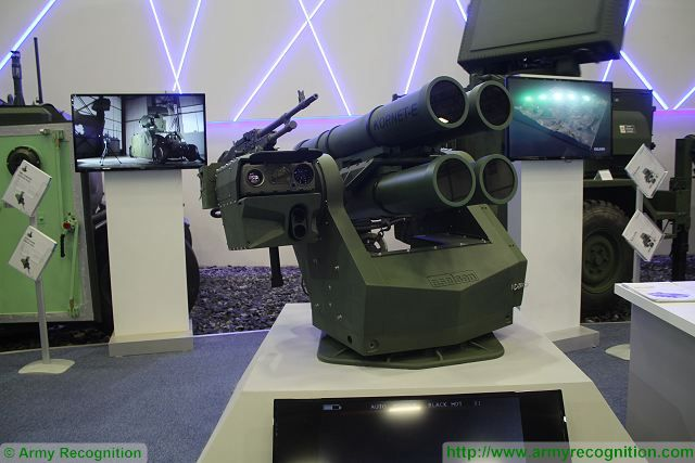 Aselsan shows latest technology of anti-tank remotely controlled weapon station at IDEF 2015 640 001
