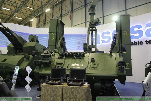 At IDEF 2015, Aselsan also unveils its new HISAR new medium range air defense missile system, called HISAR. This Low and Medium Altitude Air Defense Missile Systems is able to destroy any aerial threats at low-medium altitude.