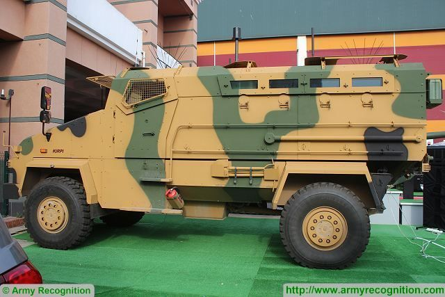 Kirpi Mine-Resistant Ambush Protected vehicle BMC IDEF 2015 International defence industry fair Turkey 001