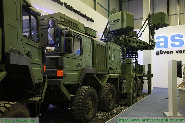 The Koral is a land based radar electronic warfare system which consists of one Radar Electronic Support (ES) and a multi Radar Electronic Attack (EA) Systems to cover the full spectrum, each mounted on a 8x8 tactical military truck.