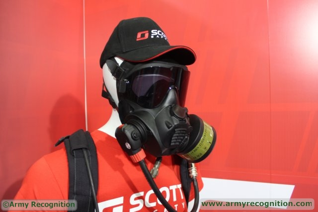 Scott Safety Respiratory Protection Company Unveiled New Generation Mask during IDEF 2015 640 001
