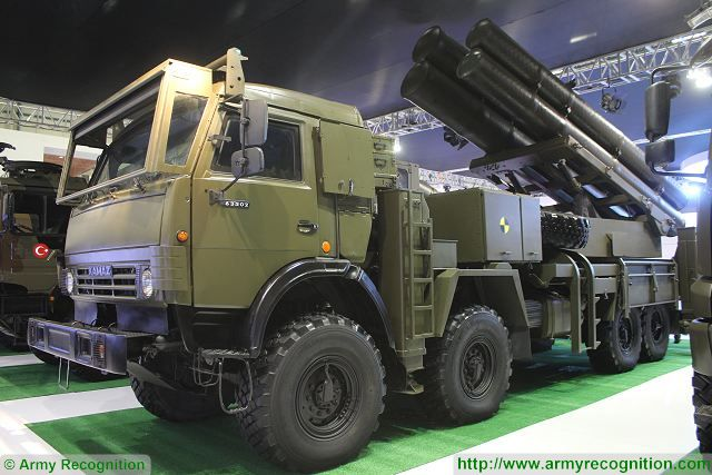 T-122-300 Multi Caliber MBRL System rocket missile launcher IDEF 2015 International Defense Industry Fair Turkey 001