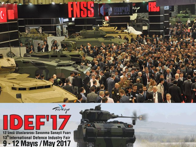 IDEF 2017 pictures Web TV Television video international defense security exhibition fair Istanbul Turkey May 2017 industry army military