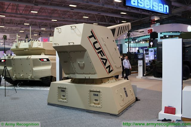 The Turkish Company Aselsan presents new technology of railgun system under the name of Tufan at IDEF 2017, the Defense Exhibition in Istanbul. The Turkish Company shows its ability to develop that type of new weapon system.