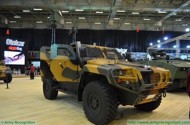 Cobra II Scout at IDEF 2017, International Defense Exhibition in Istanbul, Turkey