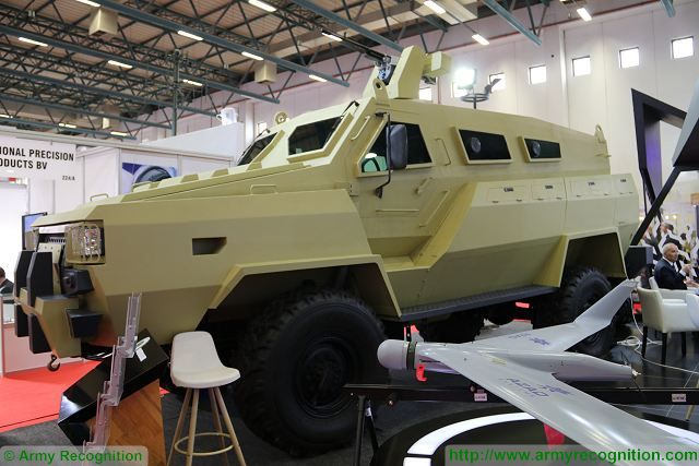At IDEF 2017, the defense exhibition in Turkey, defense industry of Azerbaijan presents for the first time to the public its new 4X4 MRAP (Mine-Resistant Ambush Protected) vehicle called Tufan. A scale model of the vehicle was unveiled in September 2016 during the defense exhibition ADEX in Baku, Azerbaijan.