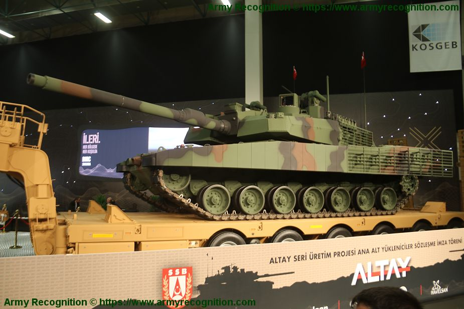 BMC presents serial production of T1 Altay MBT Main Battle Tank IDEF 2019 925 001