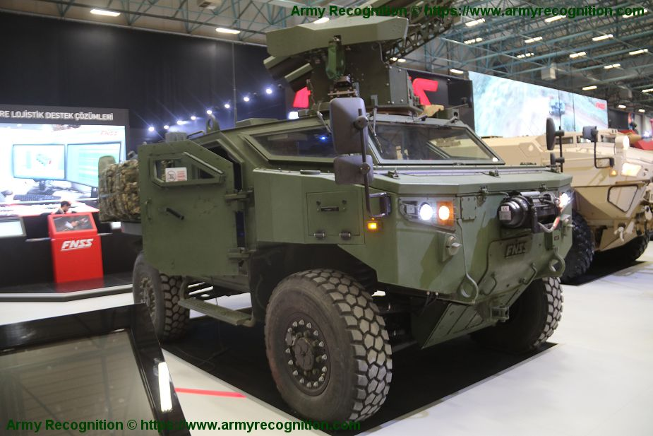 FNSS showcases latest prototype of PARS 4x4 anti tank armored vehicle IDEF 2019 925 001