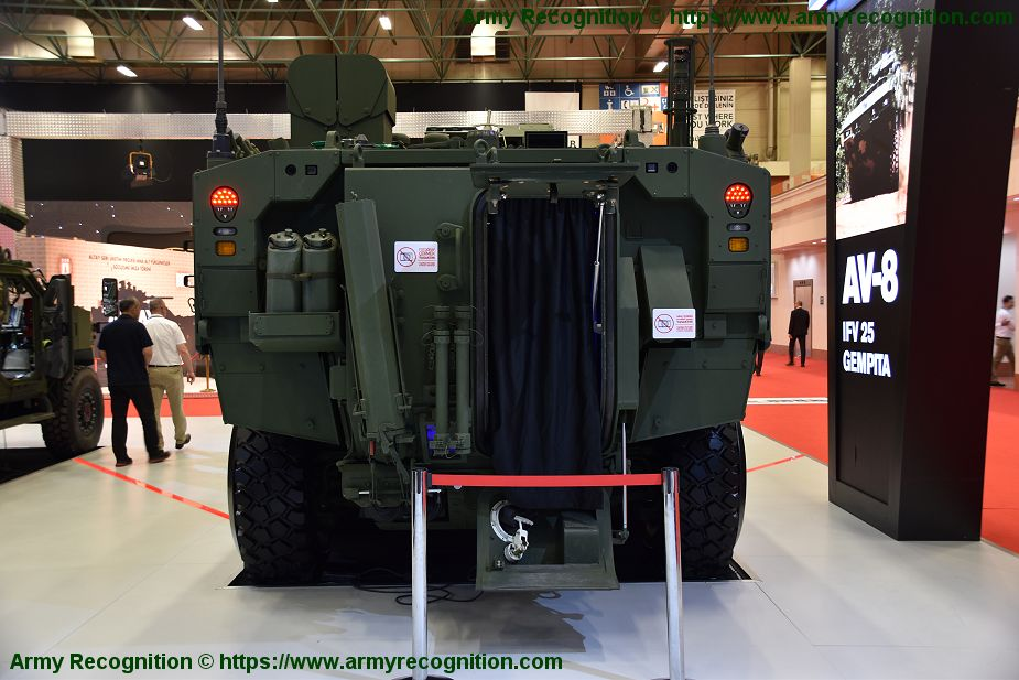 FNSS will deliver NRBC AV8 armored vehicle to Malaysian army IDEF 2019 925 002