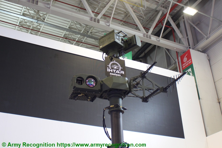 IDEF 2019 Aselsan showcases IHTAR counter UAS system