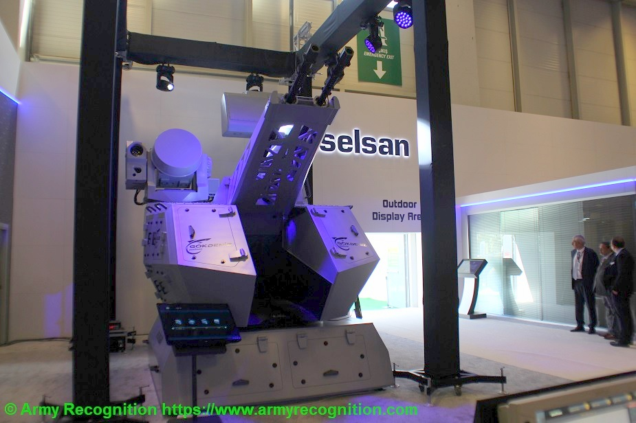 IDEF 2019 Aselsans anti ship missile hunter CIWS launched at IDEF 2019 2