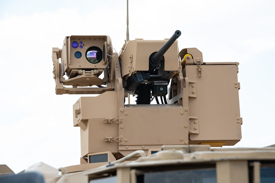 IDEF 2019 FNSS RCWS brings ballistic protection to Remote Controlled Weapon Systems