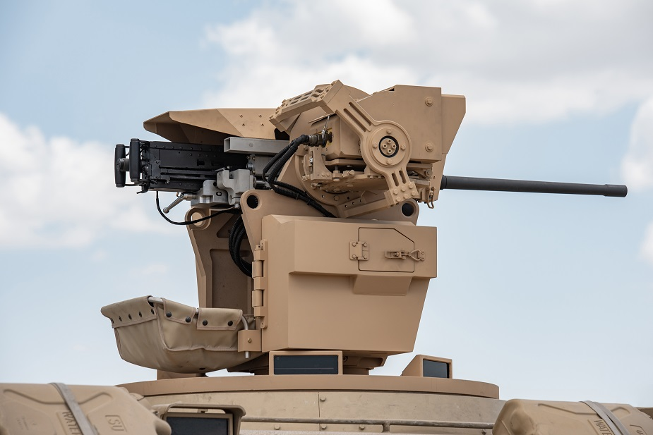 IDEF 2019 FNSS RCWS brings ballistic protection to Remote Controlled Weapon Systems PIC02