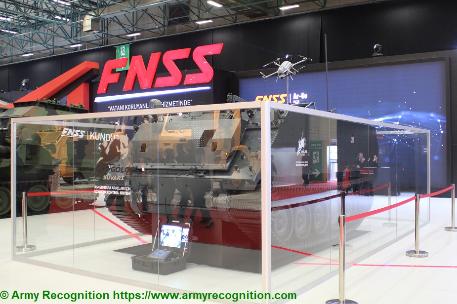 IDEF 2019 FNSS presents Shadow Rider to the Turkish Armed Forces