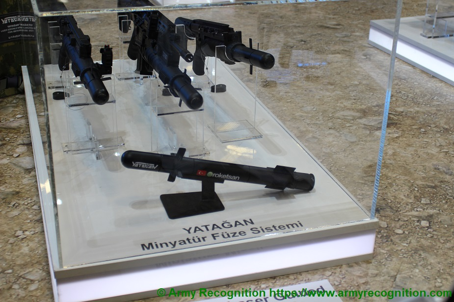 IDEF 2019 Roketsan showcases Yatagan its new laser guided miniature missile system