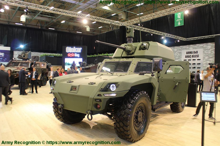OTOKAR new combat wheeled and tracked armored vehicles IDEF 2019 925 001