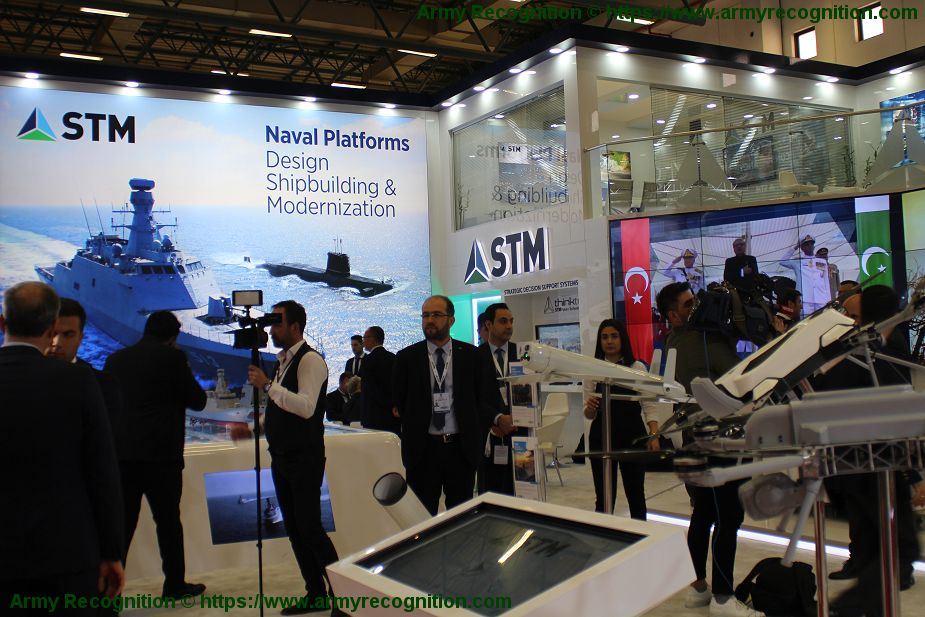 Turkish Company STM modern defense technologies for Sea Land Air IDEF 2019 925 001