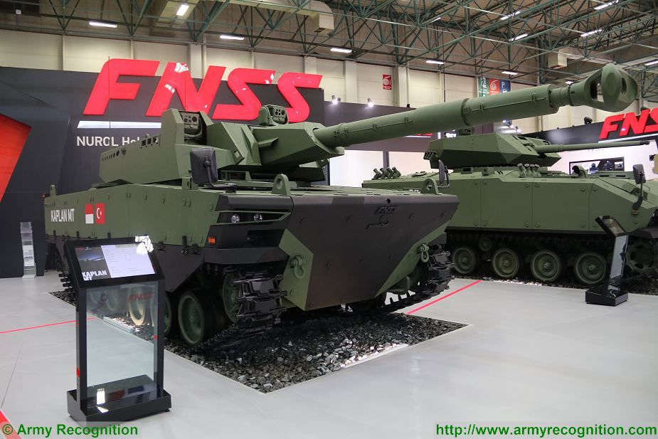 Kaplan MT Medium Tank FNSS PT Pindad Indonesia Indonesian army Turley defense industry 925 001