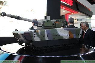 MMWT Modern Medium Weight Tank FNSS 105mm CT-CV technical data sheet specifications pictures video description information intelligence identification images photos PT Pindad Indonesia Turkey Turkish army vehicle defence industry military technology