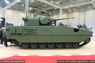 Tulpar Otokar AIFV armoured infantry fighting vehicle technical data sheet specifications description information intelligence identification pictures photos images video Turkey Turkish army vehicle defence industry military technology