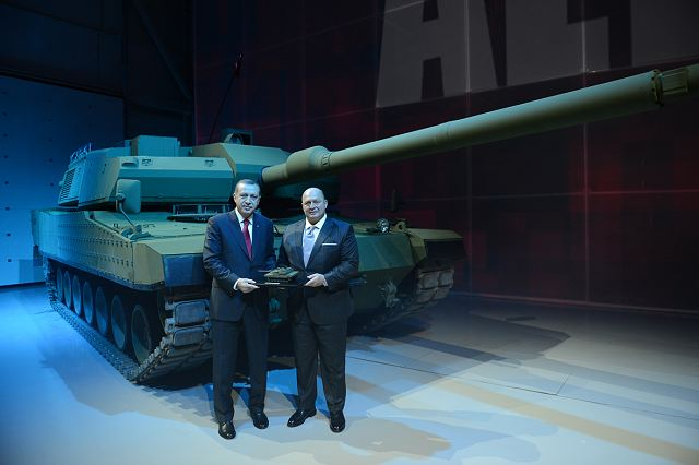 The first prototypes of Turkey's first national main battle tank ALTAY which is designed and developed by OTOKAR has been introduced. Realized with an investment of about 500 million USD, the ALTAY Project is planned for mass production in 2015.