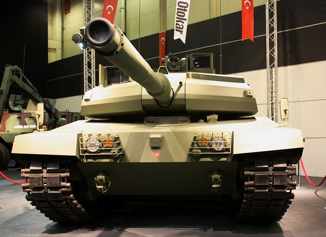Altay, the Turkish-made main battle tank project, will be complete by the end of 2015, the plan says. A full-scale model of the ALTAY Turkish main battle tanks was unveiled by the OTOKAR Company at the defence exhibition IDEF 2011, in Turkey.