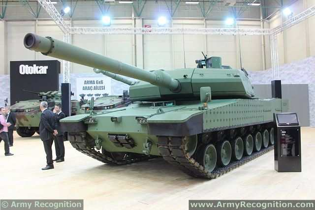 Azerbaijan is interested in some Turkey-produced armored vehicles and Altay main battle tank. According to information obtained by Azerbaijan Press Agency at IDEF-2103, the issue on including Turkey-produced armored vehicles produced in the armament of Azerbaijani Army.