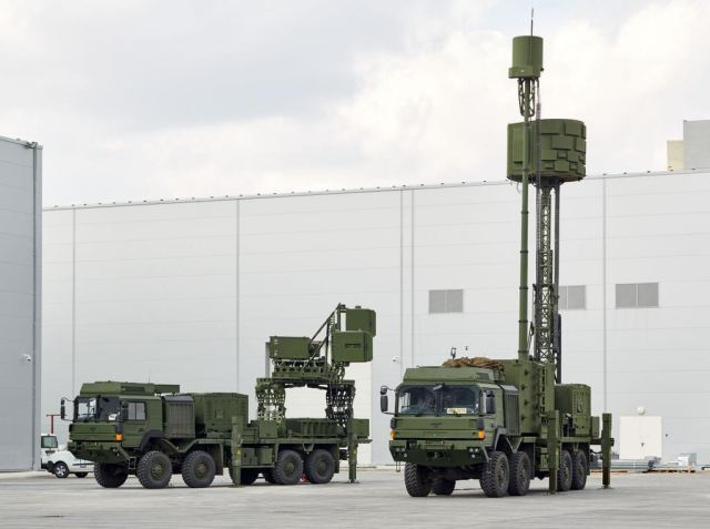 Koral land-based radar electronic warfare defense attack system Aselsan Turkey Turkish army military equipment 640 001
