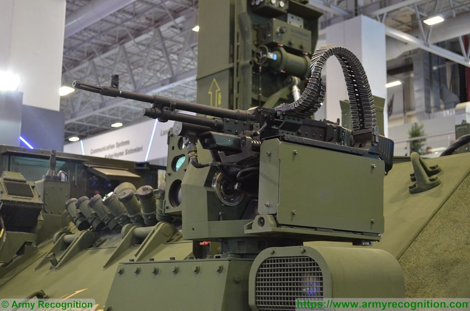 HISAR A short range surface to air defense missile system on ACV 30 tracked armoured vehicle Turkey defense industry details 002