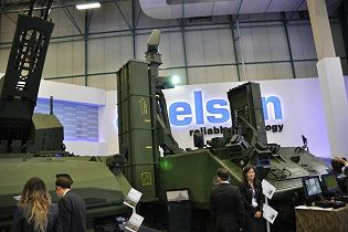 HISAR A short range surface to air defense missile system on ACV 30 tracked armoured vehicle Turkey defense industry right side view 001