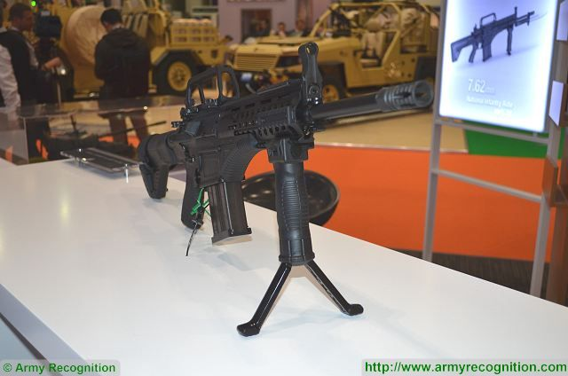 MPT-76 MKE 7.62mm assault rifle technical data sheet specifications pictures video description information intelligence identification images photos MKEK Turkey Turkish army vehicle defence industry military technology