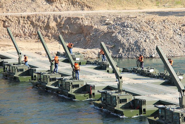 AAAB Armored Amphibious Assault Bridge FNSS technical data sheet specifications description information intelligence identification pictures photos images video Turkey Otokar army vehicle defence industry military technology