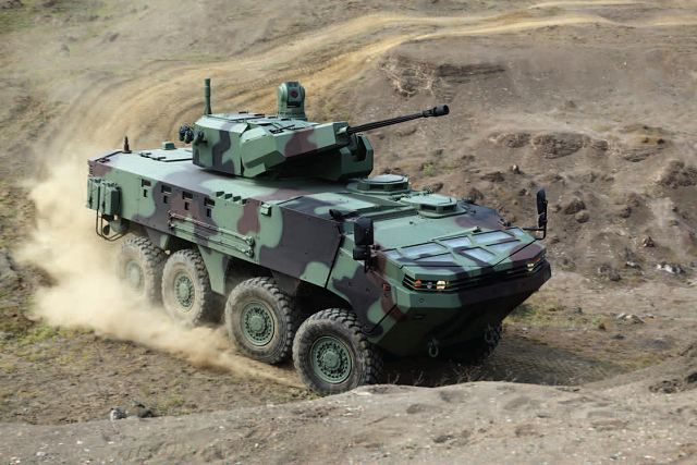ARMA 8x8 Otokar wheeled armoured vehicle vehicle technical data sheet specifications description information intelligence identification pictures photos images video Turkey Turkish army vehicle defence industry military technology