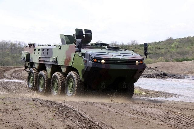 Otokar will display the Arma 8x8 for the first time at the IDEF 2011, defense fair in Istanbul to be held May 10-13. The Arma is an amphibious tactical wheeled armored vehicle. It has a high degree of ballistic and mine protection, thanks to its high steel hull.