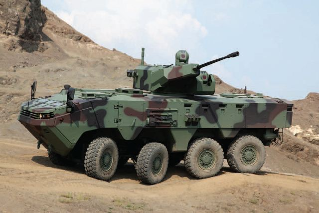 Arma 8x8 wheeled armoured vehicle personnel carrier Otokar Turkey Turkish Defence Industry Military Technology 001