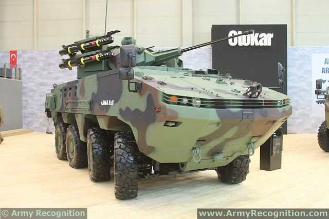 The Azerbaijani delegation was also interested in 8x8 wheeled armored vehicle Arma produced by Otokar company and infantry fighting vehicle Tulpar. According to the company representatives, Azerbaijani Defense Minister Safar Abiyev gave his recommendations on the vehicles.