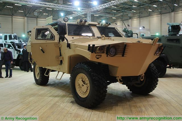 Cobra 2 II Otokar 4x4 APC armoured vehicle personnel carrier Turkey Turkish army equipment defense industry 640 001