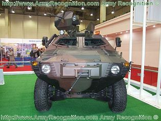 Cobra Otokar armoured personnel carrier vehicle data sheet specifications description information intelligence identification pictures photos images Turkey Turkish army mine resistant ambush protected vehicle defence industry military technology