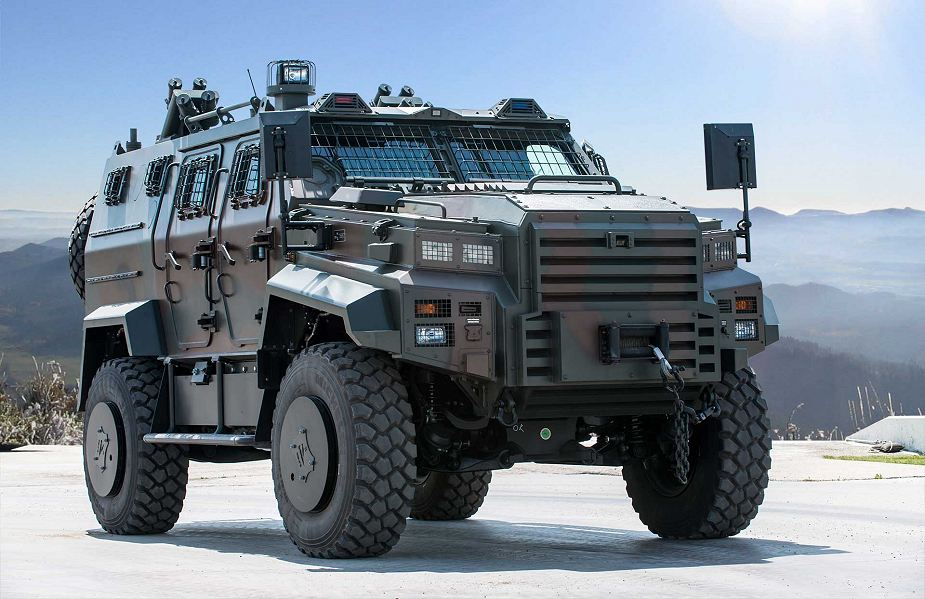 Ejder Yalcin 4x4 tactical wheeled armoured combat vehicle Nurol Makina Turley Turkish defense industry 925 001