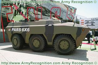 PARS 6x6 combat armored vehicle FNSS technical data sheet specifications description information intelligence identification pictures photos images video Turkey Turkish army vehicle defence industry military technology