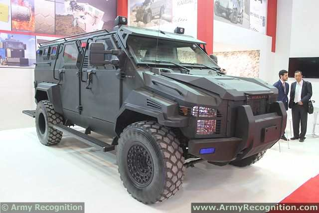 Armored patrol vehicle Pit-Bull VX, newly produced by Turkish Katmerciler company, will be presented in Azerbaijan, company representative Ramazan Dincer told APA (Azerbaijan Press Agency). The Turkish company would like to propose the vehicle for the border guards of Azerbaijan.
