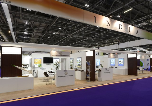 Indian defence and security companies know how to be strongly highlighted at DSEI 2015 640 001