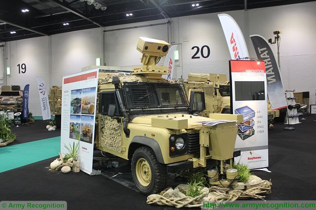 Land Zone Area at DSEI 2015 lates innovations and products of armoured and combat vehicles 640 001