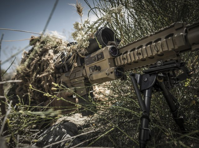 Wilcox Industries RAPTAR targeting and ranging module highlighted at DSEI 2015 640 001
