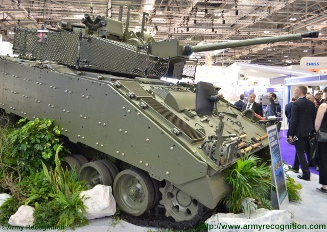 DSEI 2015 Lockheed Martin UK s Warrior vehicle upgrade program reaches milestone 640 001