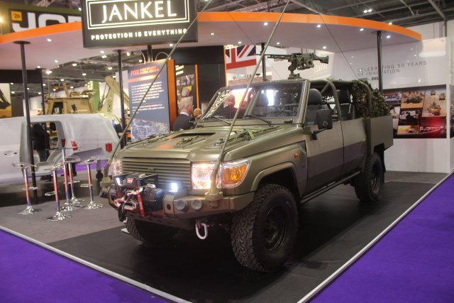 Jankel, the UK's leading light vehicle and protection solution specialist, is excited to be launching the latest line up in the Fox family of Light Tactical Vehicles; the Rapid Reaction Vehicle (RRV).
