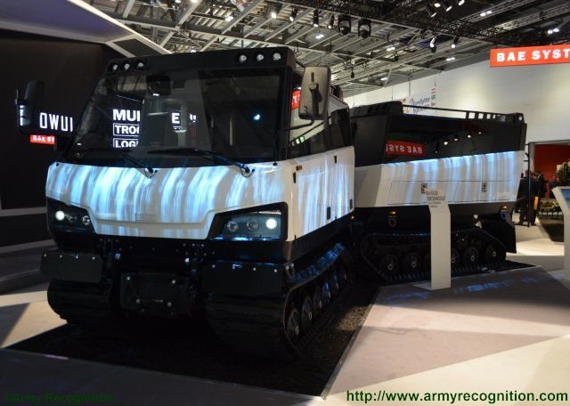 Meet BAE Systems s latest nordic hero the new BvS10 Beowulf all terrain carrier vehicle 640 001