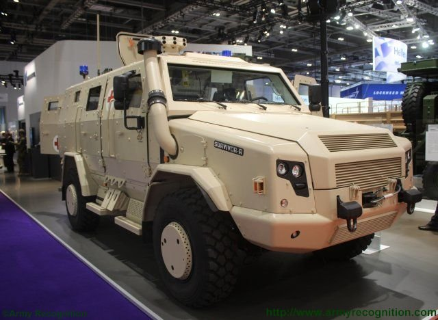 Rheinmetall MAN Military Vehicles adds ambulance variant to its Survivor R family 640 001